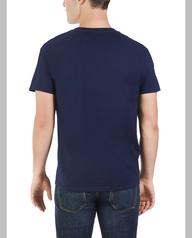 Men's Dual Defense UPF Short Sleeve Pocket T-Shirt J Navy