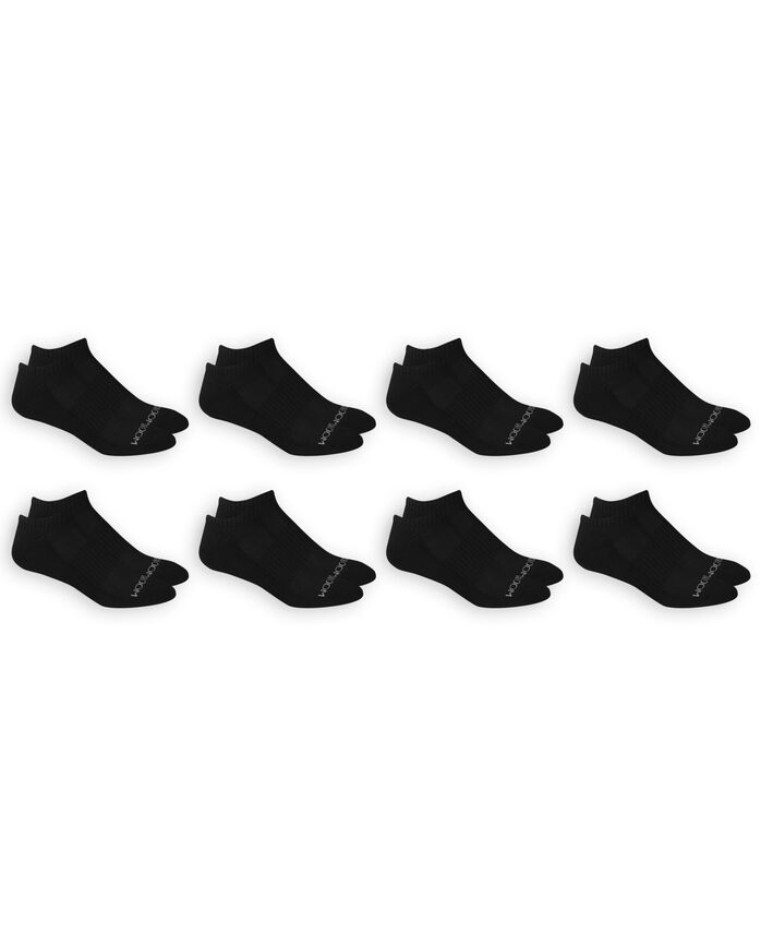 Men's Breathable No Show Socks Pair, 8 Pack