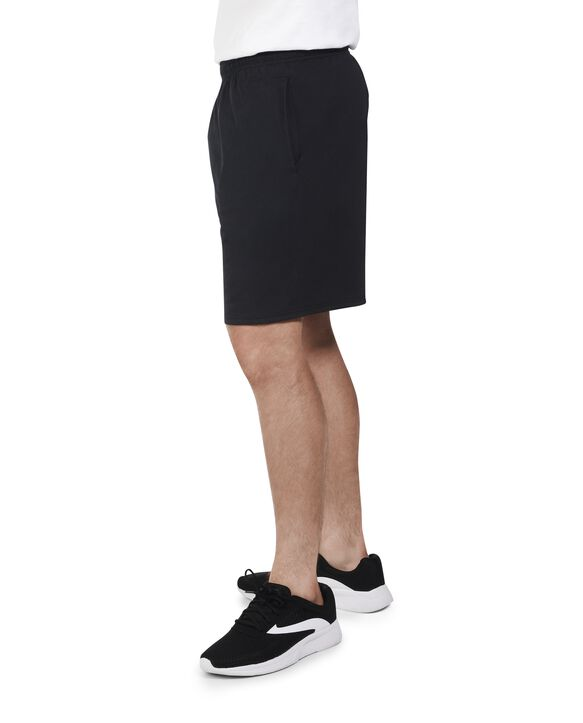 Men's Dual Defense UPF Jersey Shorts, 2 Pack Black