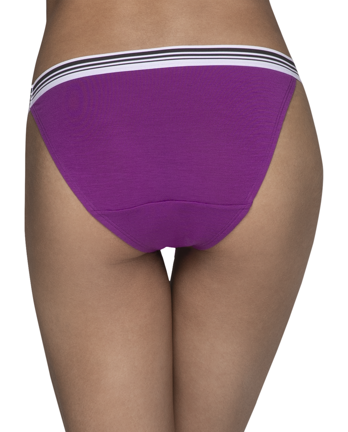 Young Women's Assorted High Leg Bikini, 3 Pack