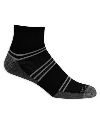 Men's Breathable Ankle Socks,  8 Pack, Size 6-12