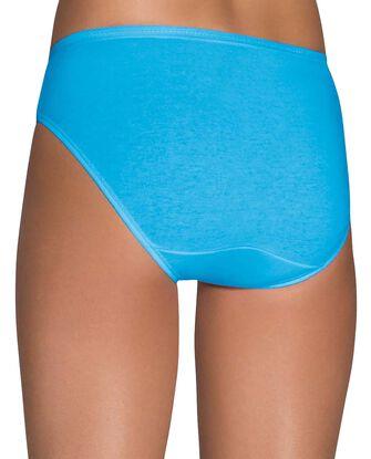 Women's Cotton Bikini Panty, 6 Pack