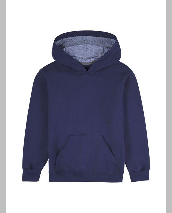 Boys' Fleece Hoodie Sweatshirt, 1 Pack Navy