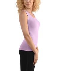 Women's Seek No Further V-Neck Tank Top Lilac