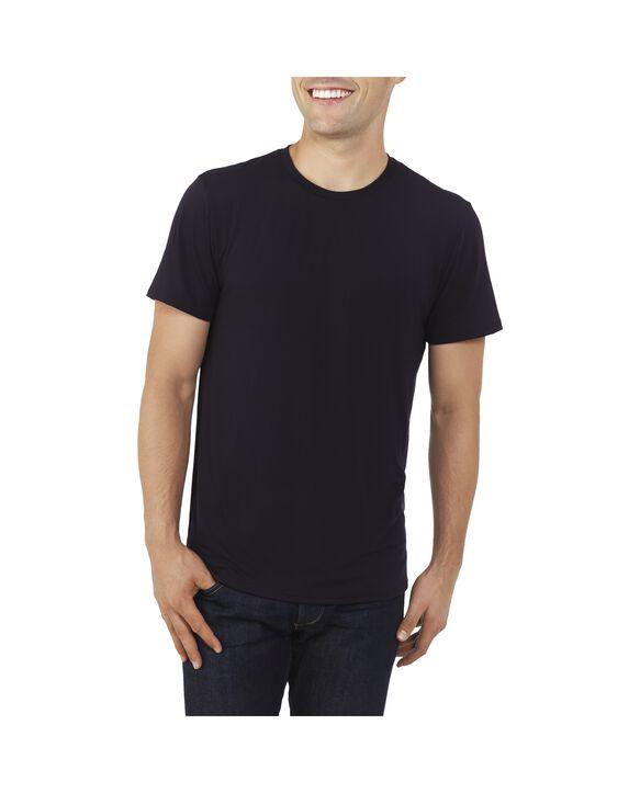 Men's EverLight™ Crew Neck T-Shirt, 1 Pack Brilliant Black
