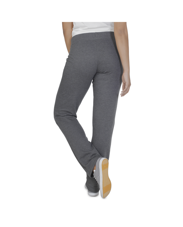 Women's Essentials Live In Open Bottom Pant, 1 Pack Charcoal Heather