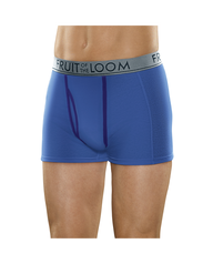 Men's Ultra Flex Short Leg Boxer Brief, 3 Pack Assorted