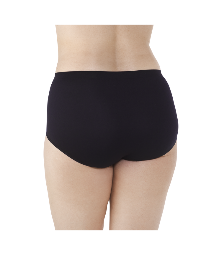 Women's Fit For Me Seamless Brief Panty, 5 Pack Assorted
