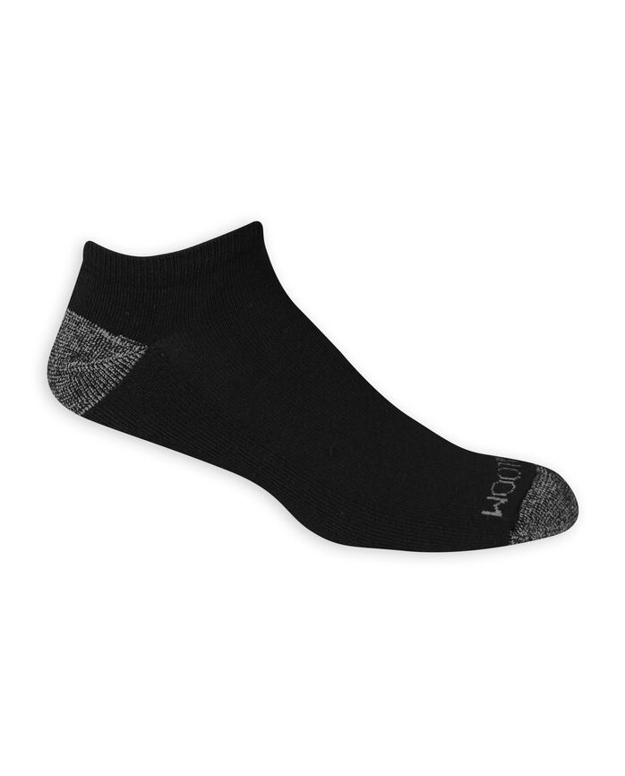 Men's Dual Defense No Show Socks, 12 Pack, Size 6-12