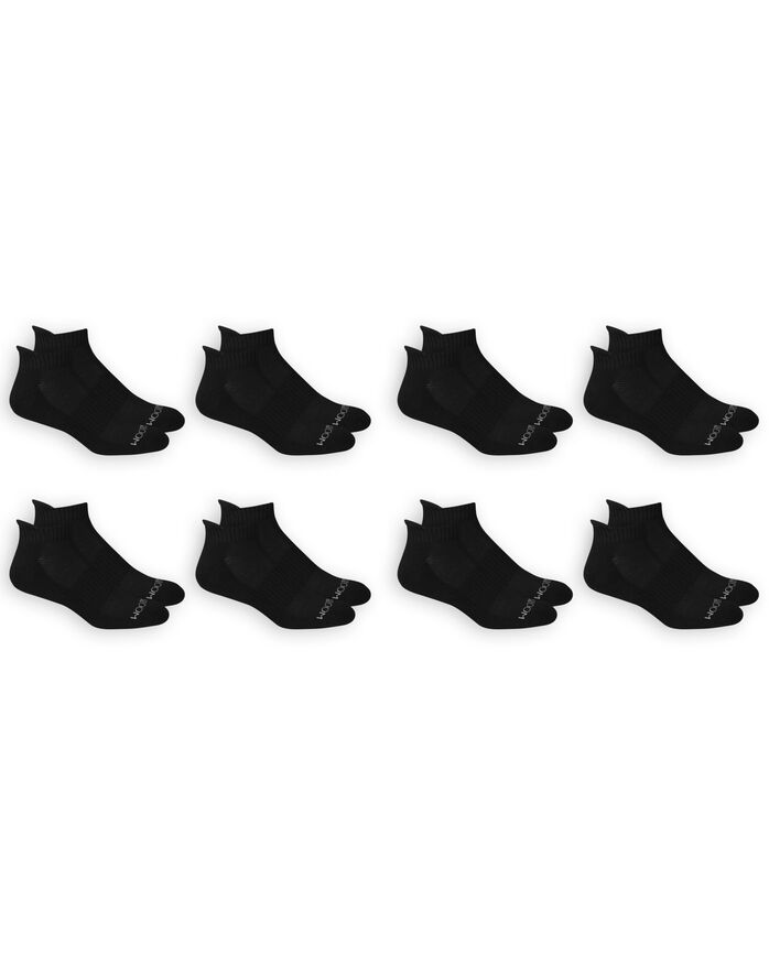 Men's Breathable Low Cut Socks Pair, 8 Pack