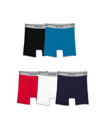 Toddler Boys' Assorted Boxer Briefs, 5 Pack