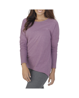 Women's Essentials Long Sleeve Scoop Neck T-Shirt, 1 Pack