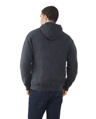 Big Men's EverSoft Fleece Pullover Hoodie Sweatshirt, 1 Pack Black Heather
