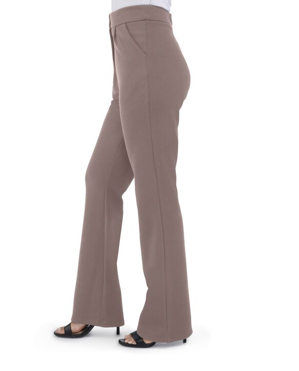 Women's Seek No Further High Waisted Pleated Fit and Flare Pants Walnut