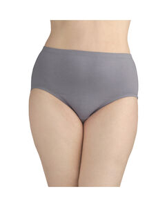 Fit for Me Women's 5 Pack Breathable Cotton-Mesh Brief