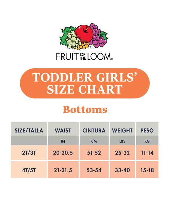 Toddler Girls' Assorted Cotton Brief Underwear