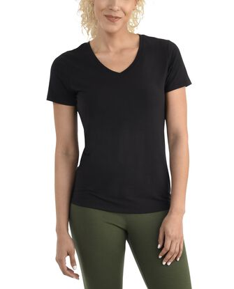 Women's  Seek No Further Short Sleeve V-Neck T-shirt