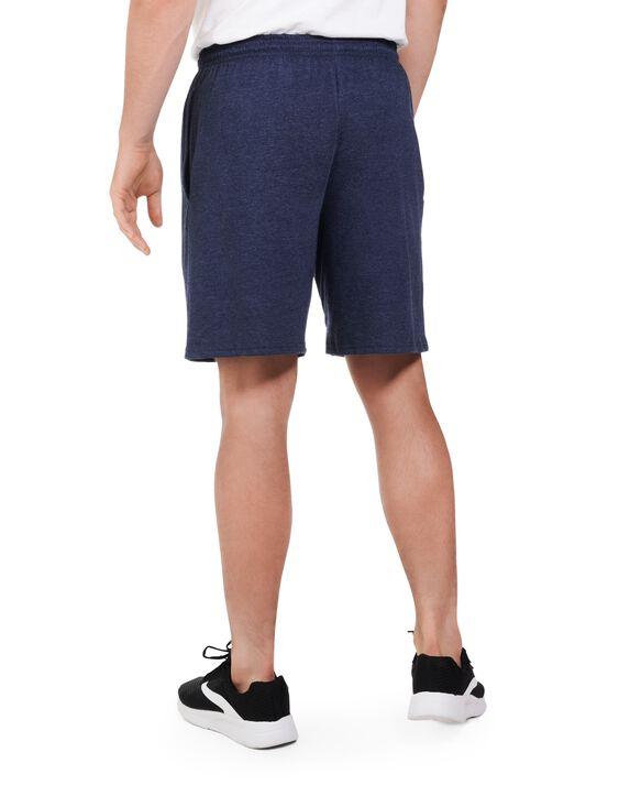 Big Men's Dual Defense UPF Jersey Shorts, 2 Pack Indigo Ink Heather