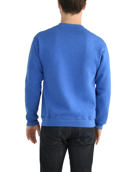Big Men's EverSoft Fleece Crew Sweatshirt, 1 Pack Blue Shadow Heather