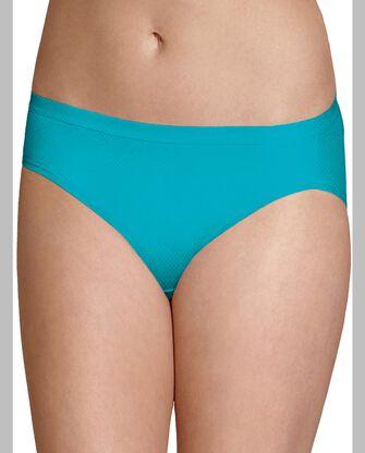 Women's Breathable Micro-Mesh Bikini, 4 Pack