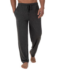 Fruit of the Loom Men's Breathable Mesh Sleep Pant GREY HEATHER