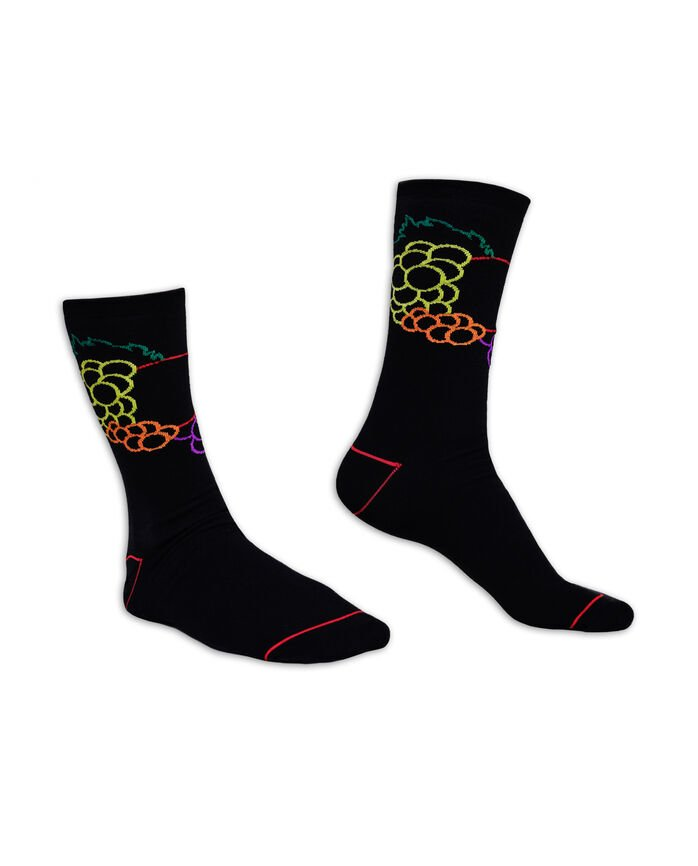 Fruit of the Loom Limited Edition Neon Fruit Fashion Crew Socks