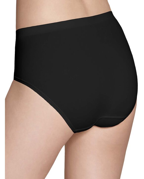 Women's 360 Stretch Seamless Low-Rise Brief Panty, 6 Pack Assorted