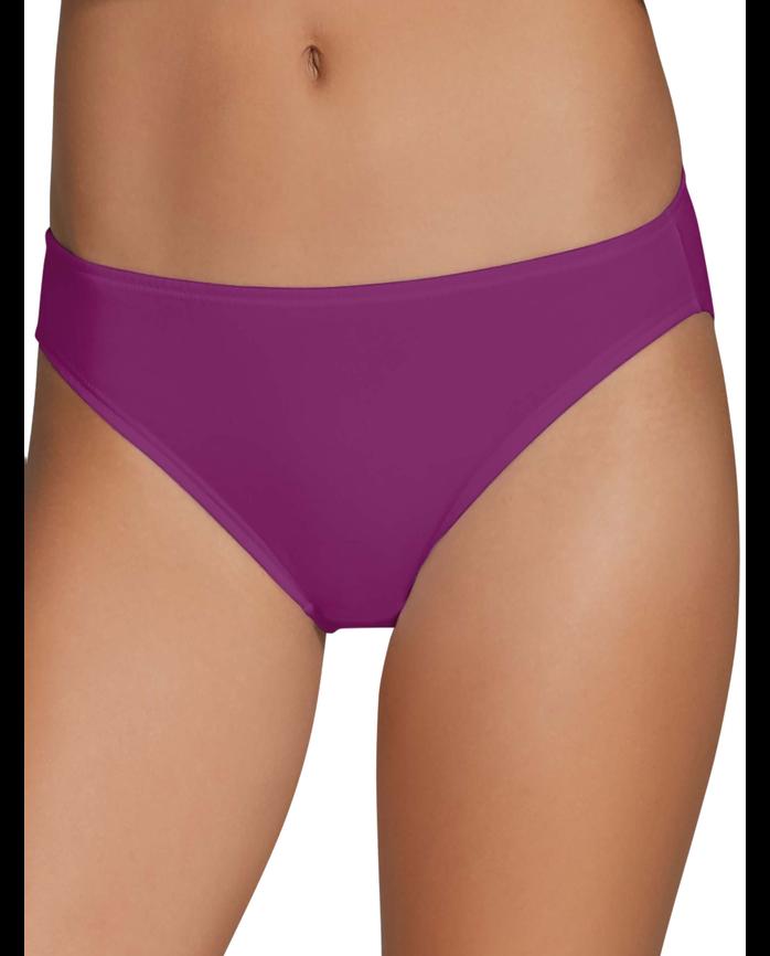 Women's Cotton Stretch Bikini, 6 Pack Assorted