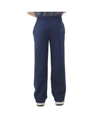 Boys' Fleece Open Bottom Sweatpants, 1 Pack Blue Heather