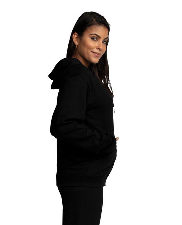 EverSoft Fleece Full Zip Hoodie Jacket, 1 Pack Black