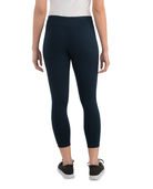 Women's Seek No Further Wide Waistband Ponte Leggings Navy Nights
