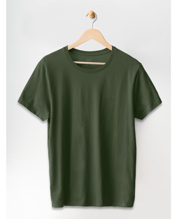 Crafted Comfort™ Artisan Tee Military Green