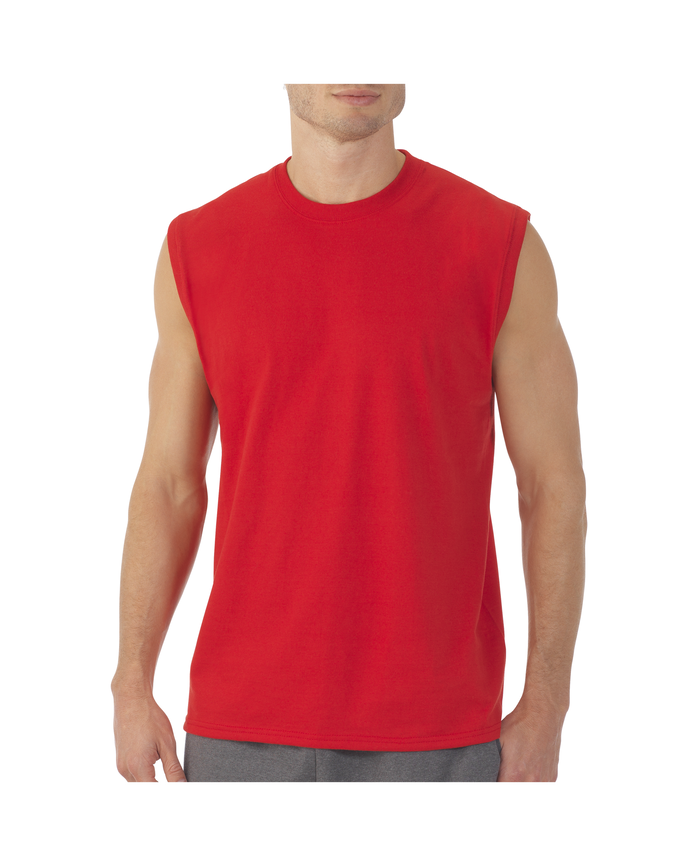 Big Men's EverSoft Muscle, Available in Extended Sizes