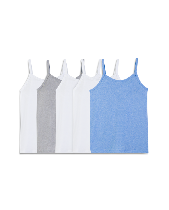 Fruit of the Loom Girls' 5 Pack Cami