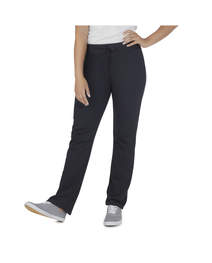 Women's Essentials Live In Open Bottom Pant, 1 Pack Black