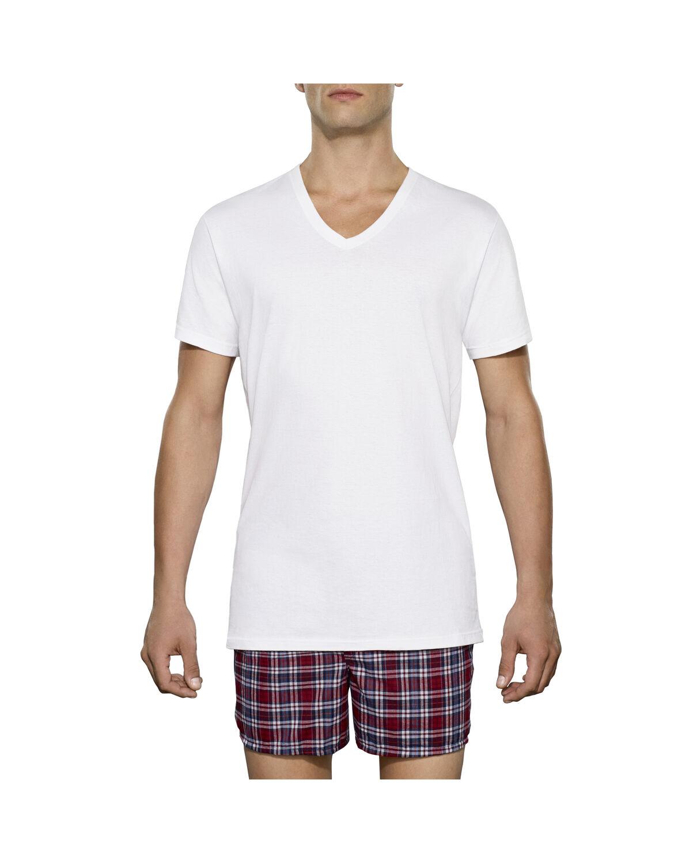 Men 39 s 3 pack tall man v neck t shirt fruit us for T shirt for tall man