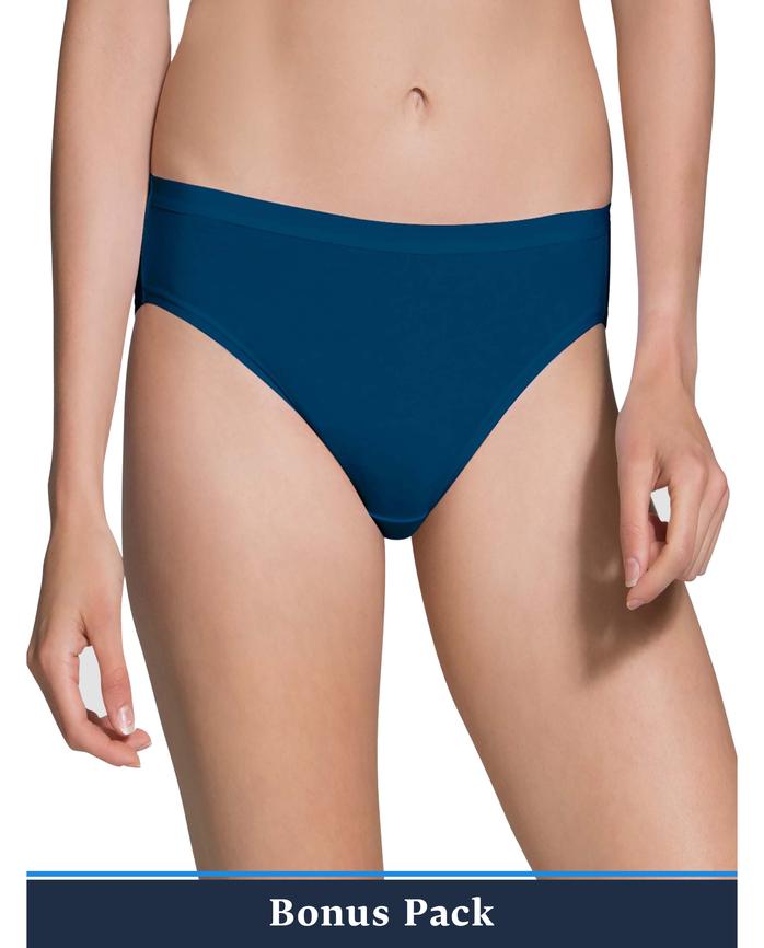 Women's Assorted Beyondsoft Bikini Panty, 8 Pack