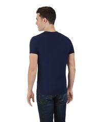 Limited Edition Printed Logo T-Shirt Navy