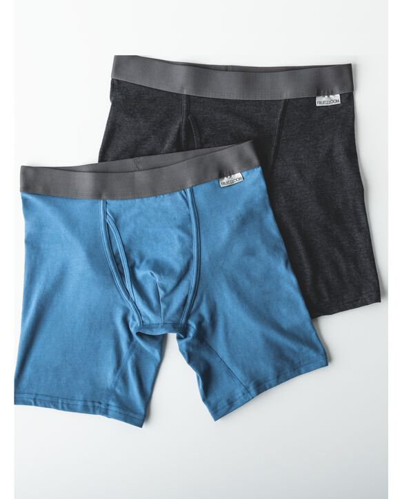 Men's Crafted Comfort Assorted Boxer Brief 3 Pack Assorted Color