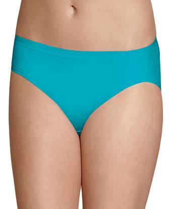 Women's Breathable Micro-Mesh Bikini Panty, 6 Pack