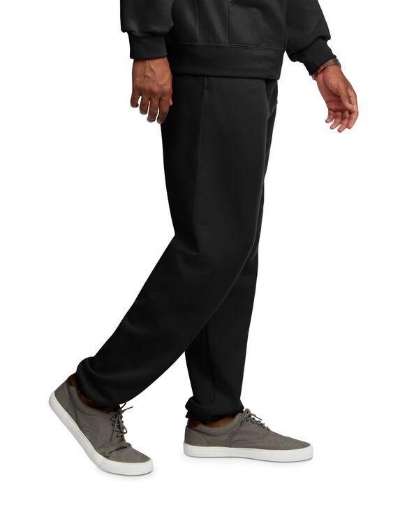 EverSoft Fleece Elastic Bottom Sweatpants, 1 Pack Black