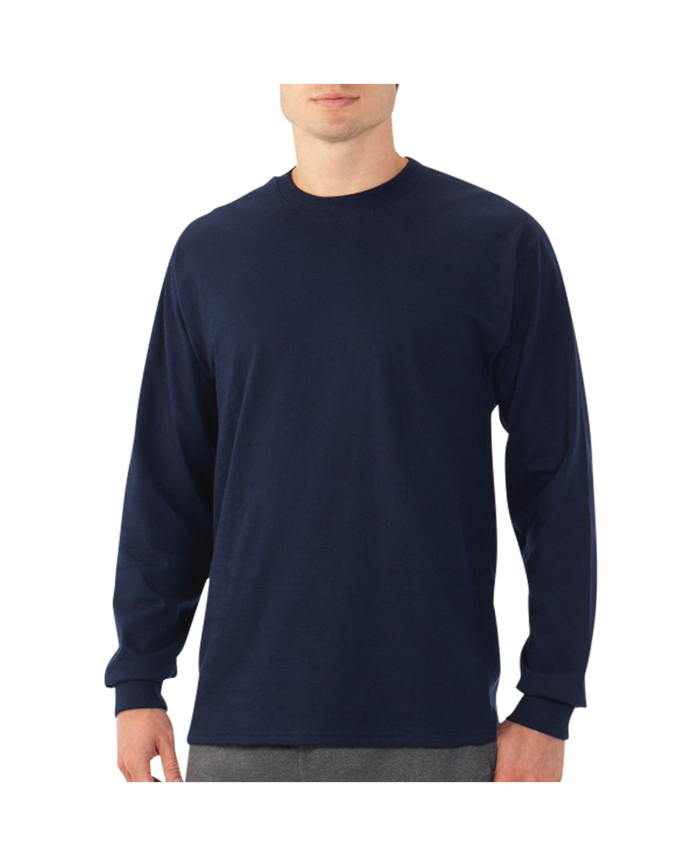 Men's EverSoft Long Sleeve T-Shirt, 1 Pack J Navy