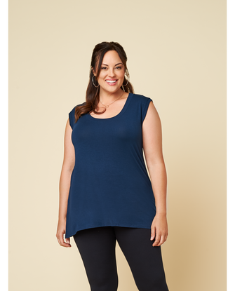 Women's Seek No Further Plus Size Scoop Neck Tank Top