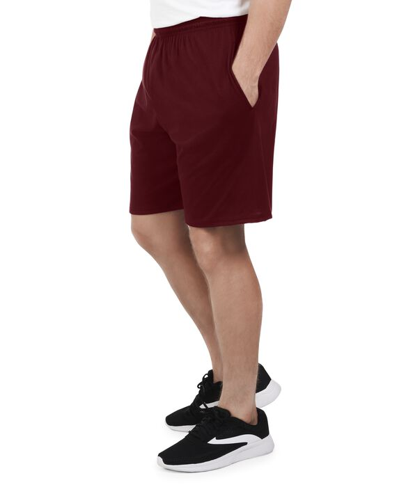 Men's Dual Defense® Jersey Shorts, 1 Pack, Extended Sizes Flute Wine