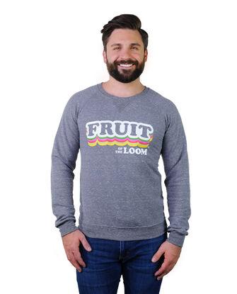 Limited Edition Retro Print Logo Crew Sweatshirt , 1 Pack