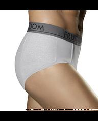 Men's Ultra Flex Brief, 4 Pack Assorted