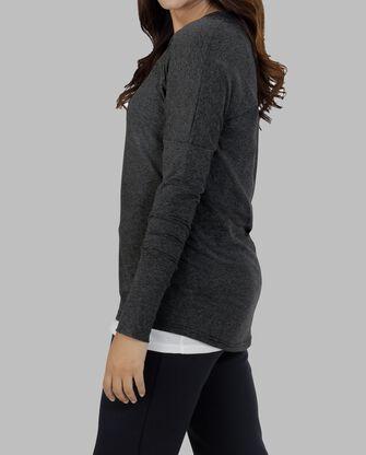 Women's Essentials Long Sleeve Scoop Neck T-Shirt, 1 Pack