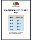 Big Men's Short Sleeve White Crew T-Shirts, 3 Pack White