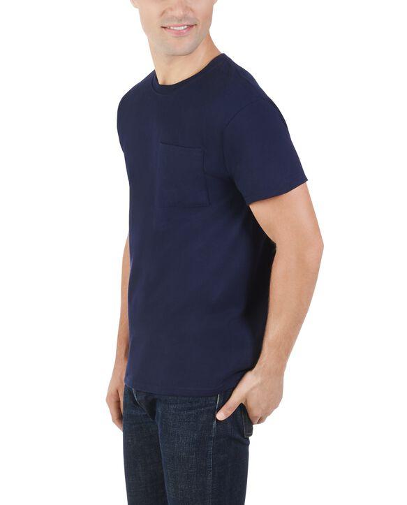 Men's 360 Breathe Short Sleeve Pocket T-Shirt J Navy
