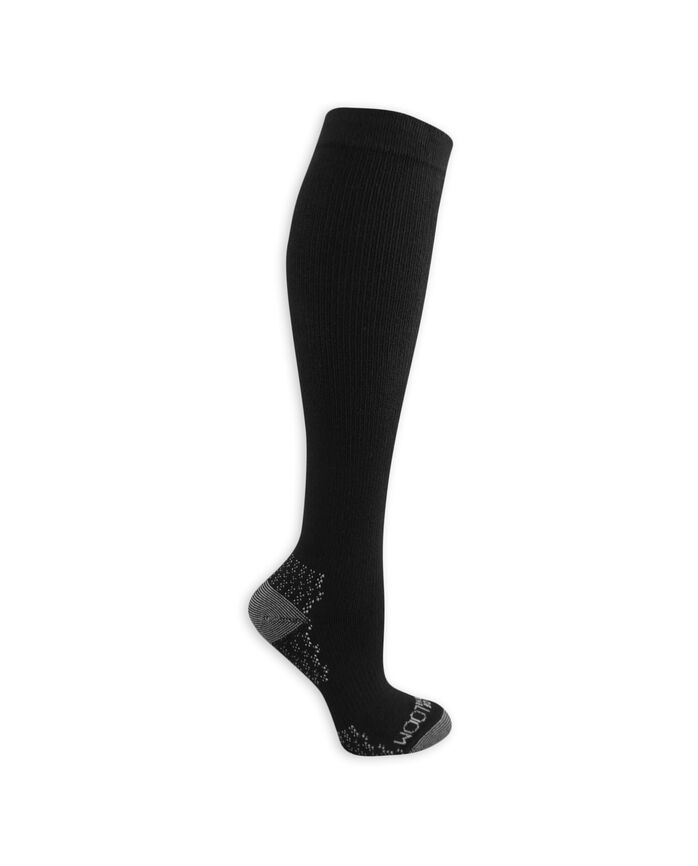 Women's On Her Feet Lightweight Compression Knee High Socks, 2 Pack, Size 4-10